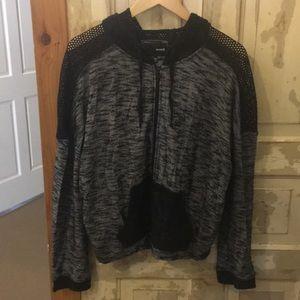 Black and white/grey Hurley jacket